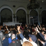 More than 100 guests attended the Samsung Smart TV launch party in Manhattan on March 20.