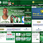 The Boston Celtics implemented Tweets on the Jumbotron to engage fans in-venue during the game. Using social channels to raise audience participation levels to an all-time high, the Celtics built an eco-system that connected fans and players in the Garden through targeted, relevant, and interactive social content.