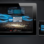 Turner's NCAA March Madness Live gave fans unprecedented access to the NCAA Division I Men's Basketball Tournament, offering live streams of every game as well as the social conversation around the games. Every game featured a feed of social conversation from Twitter and Facebook, curated for that specific game, as well as an overall Tournament Tweets feed. Fans could snap and share video highlights from each game as well as post their own thoughts on the game.